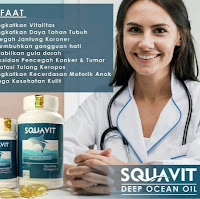 {♔|]QFO-65 PAKET 2 SQUAVIT ISI 40 SOFTGEL - Minyak Ikan Laut Dalam Squalene Premium :.