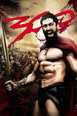 300 (2006) Dual Audio Hindi 720p BluRay 1.1GB