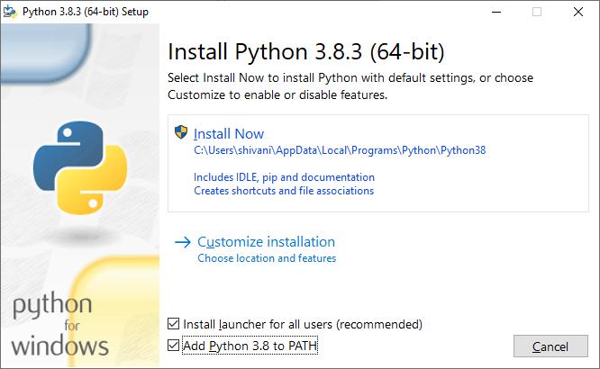 How to install Python