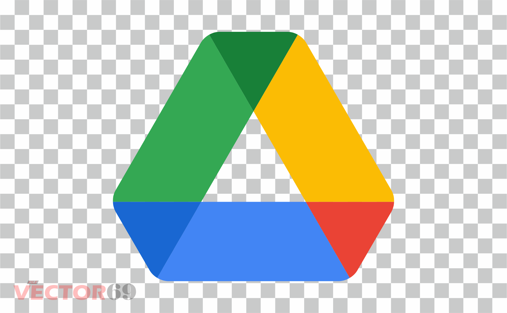 Google Drive New 2020 Logo - Download Vector File PNG (Portable Network Graphics)