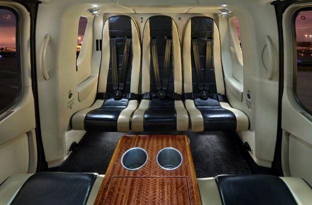 Eurocopter EC135 interior