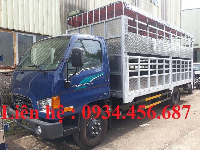 Cải tạo hoán cải xe tải thùng chở gia súc