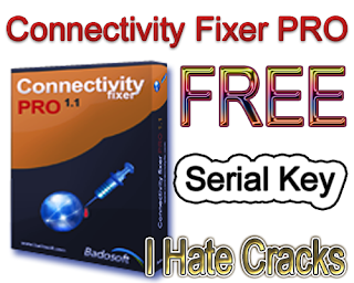 Connectivity Fixer PRO v 1.2 Free Download With Legal Serial Key