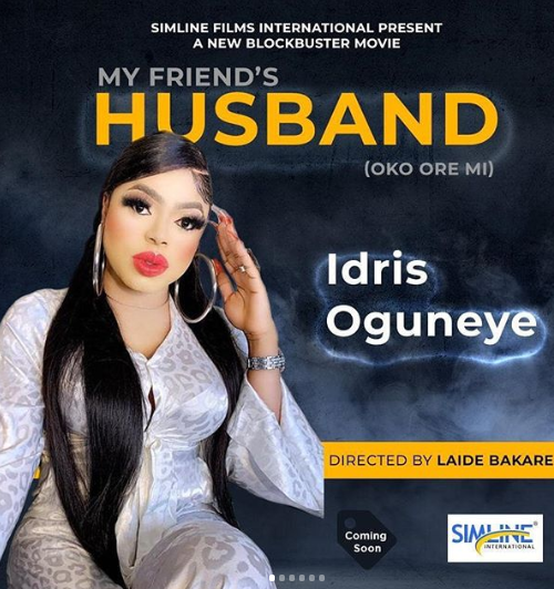 Again another top Yoruba actress features Bobrisky in movie