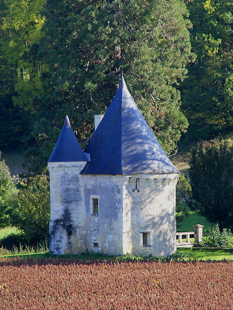 Gatehouse, Chateau de Montgoger, Indre et Loire, France. Photo by Loire Valley Time Travel.