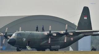 Hercules C-130 Milik TNI AU