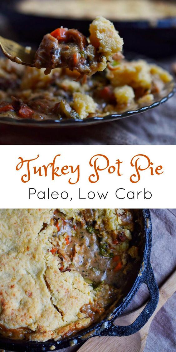 paleo turkey pot pie – low carb, keto