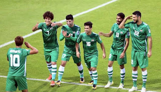 مشاهدة مباراة العراق وفلسطين