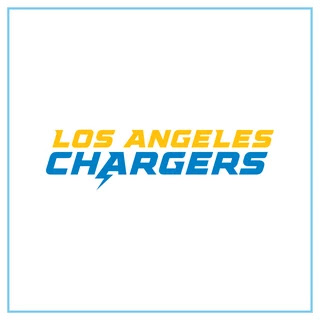 Los Angeles Chargers Wordmark - Free Download File Vector CDR AI EPS PDF PNG SVG