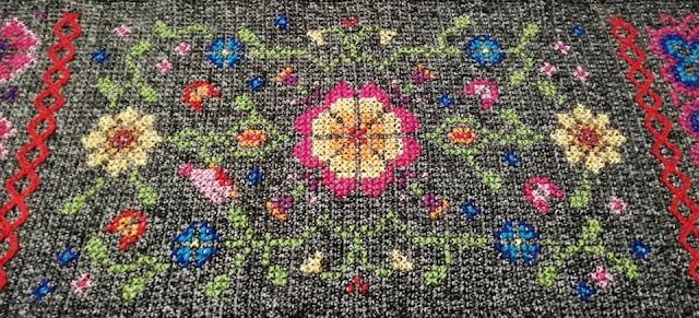 embroidery jacquard