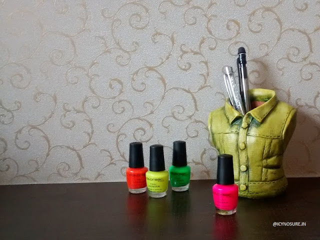 Colorbar Pop Heart Nail Polish Collection Review & Giveaway
