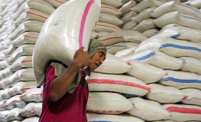 """Ambon, Malukupost.com - Stok beras menjelang musim hujan pada April hingga September 2018 di kabupaten Maluku Tengah terjamin karena dipasok distributor dari sentra produksi. Kadis Perindag Maluku Tengah, Kace Pattiasina, dihubungi dari Ambon, Kamis (22/3), mengatakan, stok beras saat ini mencukupi kebutuhan lebih dari 500.000 jiwa penduduk setempat hingga tiga bulan ke depan. """"Jadi menjelang musim hujan masyarakat tidak perlu meresahkan beras karena stok yang biasanya dipasok dari Surabaya, Jawa Timur maupun dataran Pasahari, kecamatan Seram Utara terjamin,"""" ujarnya."""