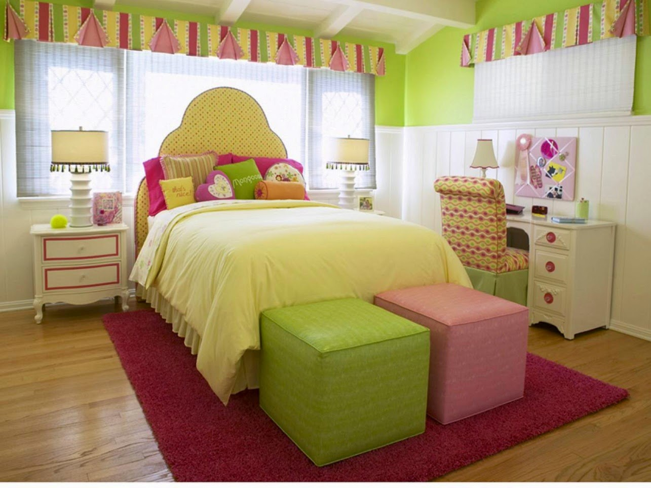 desain kamar tidur remaja perempuan | interior rumah