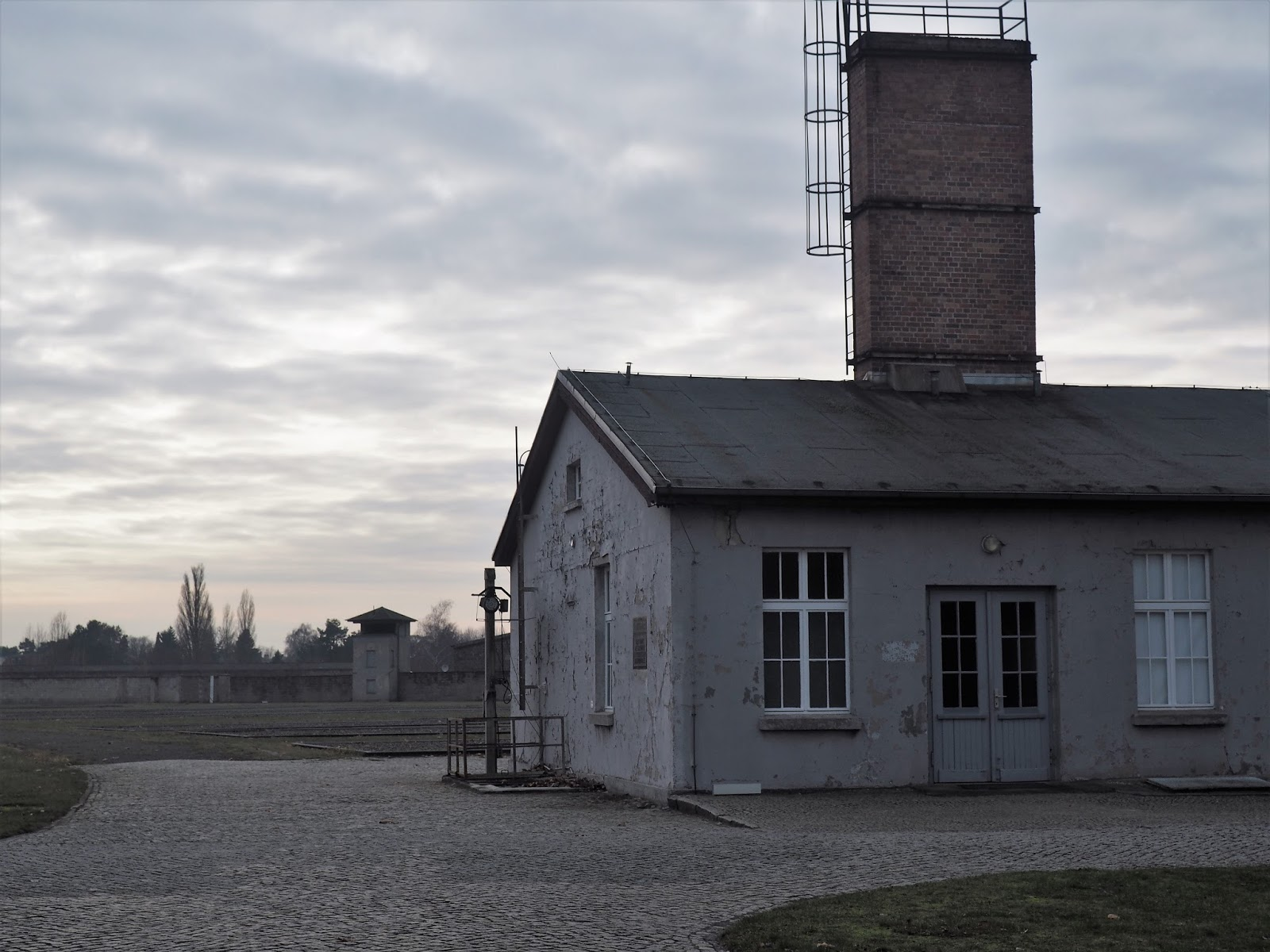 Sachsenhausen Concentration Camp kitchen building