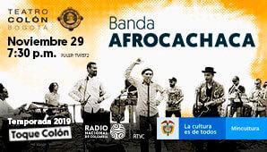 Concierto de BANDA AFROCACHACA en Bogotá 2019