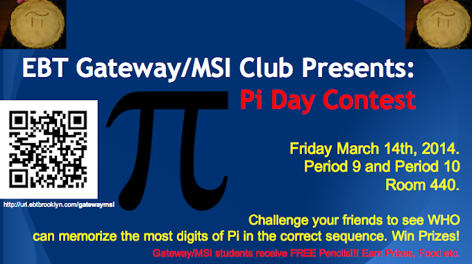 Who's excited for Pi Day?