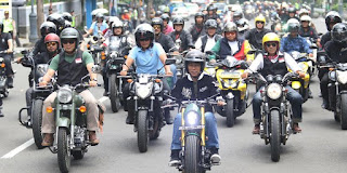 Motor Custom Pak Jokowi