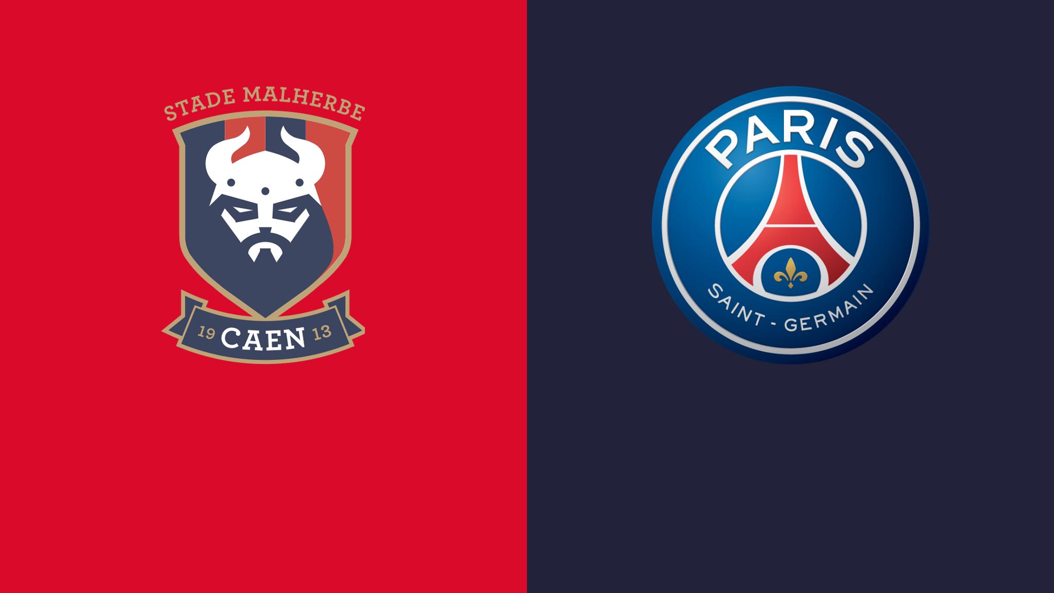 Caen vs PSG