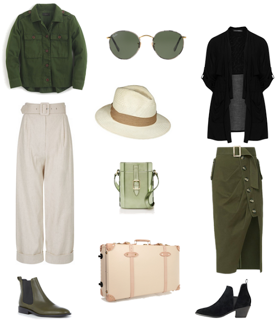 safari outfit options
