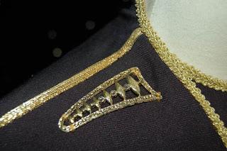 TNG season 1 admiral uniform - gold brooch