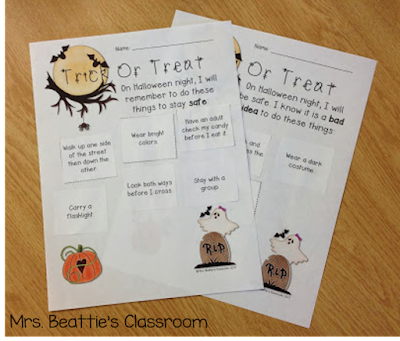 Keep your students safe this Halloween using the fun resources in this blog post! Review rules, read stories, share fun videos and complete your Halloween safety lessons with some great worksheets and booklet ideas for kids! Psst... there's a FREEBIE!