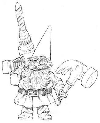 THE ART OF JIM NELSON: Dreamblade Gnome