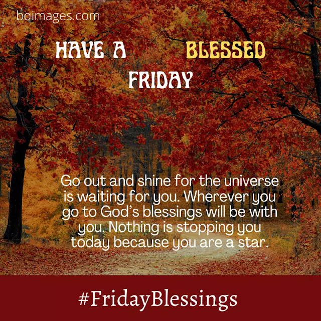 Friday blessings and prayers Images