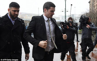 Jury finds Footballer Adam Johnson not guilty on one count of sexual activity with a child