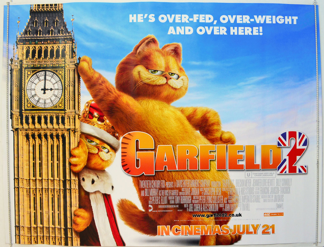 Garfield A Tail Of Two Kitties 2006 Bluray 536p Tamil Dubbed X264 480mb Wikipedia