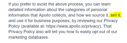 Apollo.io responds to a DSAR request