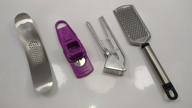 أفضل اربعة ادوات لفرم الثوم -  Best 4 Tools For Chopping Garlic