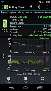 3C Battery Monitor Widget Pro - 2