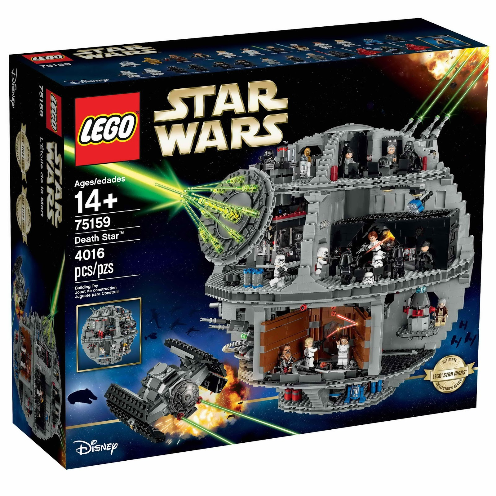 LEGO gosSIP: 140816 LEGO 75159 Death Star box art