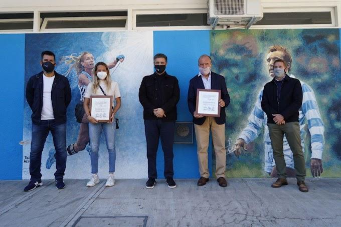 Reconocimiento a Delfina Merino y Hugo Porta como  deportistas destacados de la Provincia de Buenos Aires