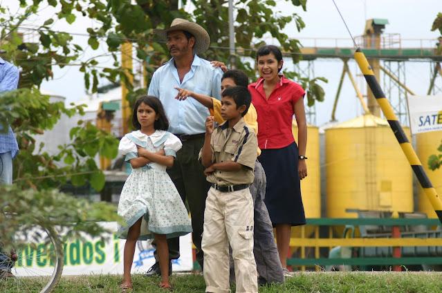 伝統的なコロンビアの家族