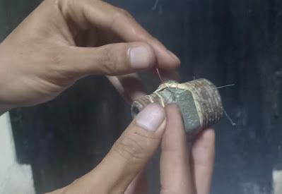 Cara-cara pembuatan kail pancing palang