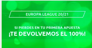 Mondobets promo Europa League 8-4-2021