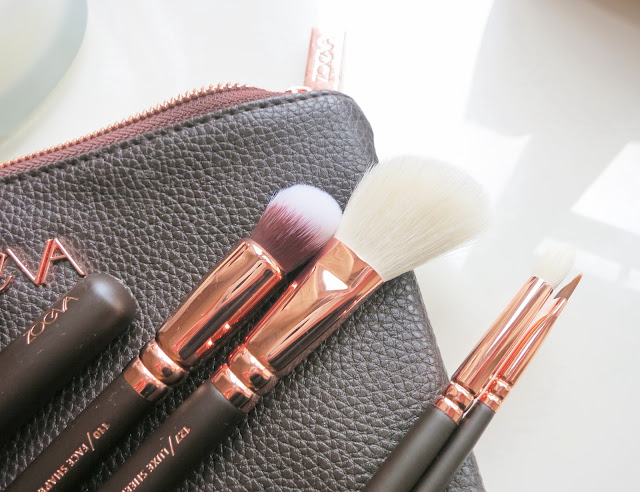 ZOEVA Rose Golden Luxury Brush Set