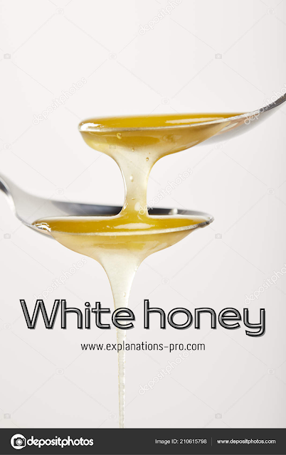 Benefits of white honey