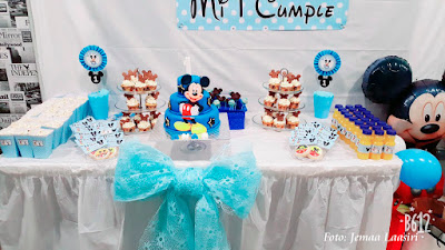 kit cumpleaños mickey mouse