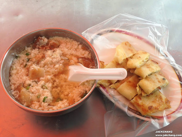 蛋餅、鹹豆漿