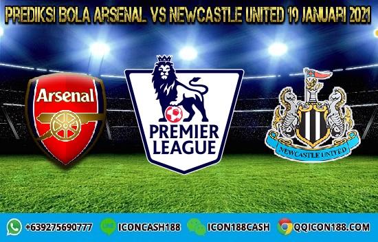 Prediksi Skor Arsenal Vs Newcastle United 19 Januari 2021