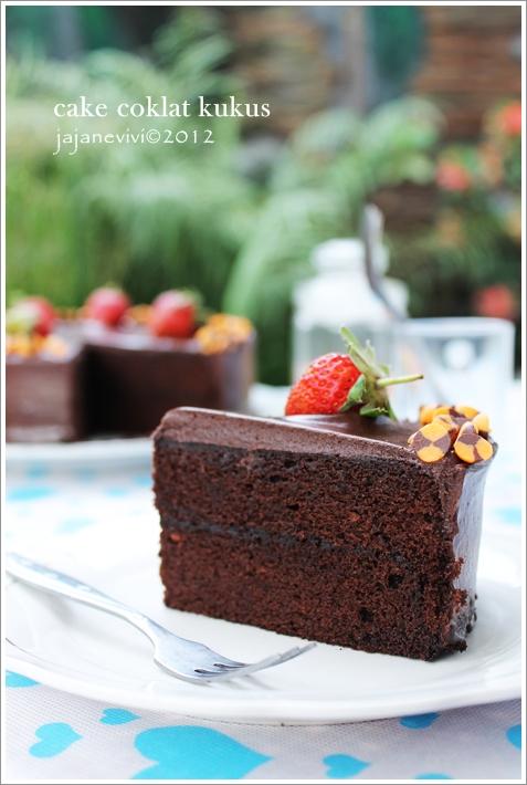 Cake Coklat Kukus Jajane Vivi