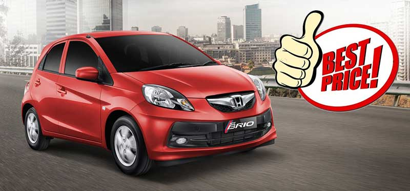 Paket Kredit Mobil Honda Brio Bandung 2016