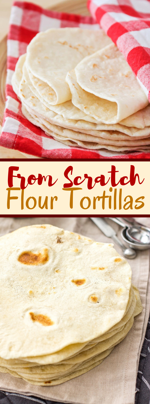 Easy Flour Tortillas From Scratch #dinner #vegan