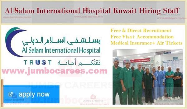 Hospital Job vacancies in Kuwait, Find all new jobs in Kuwait,