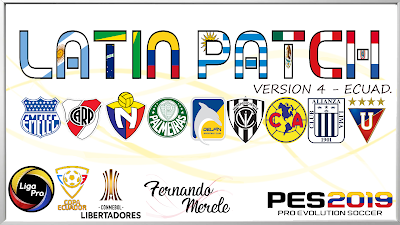 PES 2019 Latin Patch 2019