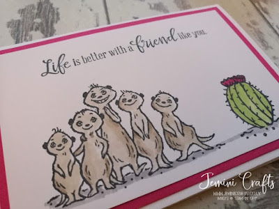 Free meercat stamp set The Gangs All Meer Jemini Crafts