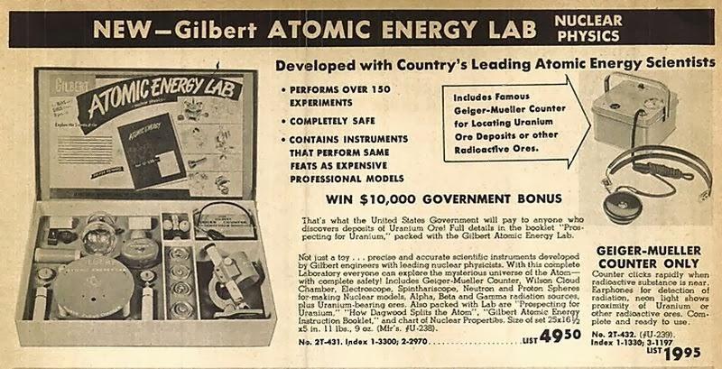 Philosophy of Science Portal: Gilbert U-238 Atomic Energy