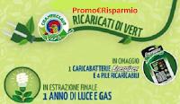 Logo ''Ricaricati di Vert'': in omaggio caricabatterie e vinci 1 anno di luce e gas